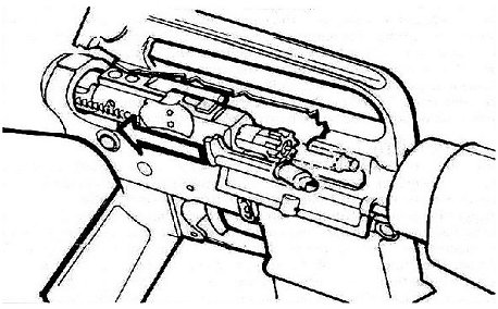 M16 M4 Lower Receiver   Fire Control   Full Auto in addition YXItMTUtZnVsbC1hdXRvLXNjaGVtYXRpY3M furthermore M16 Full Auto Hammer Wiring Diagrams besides  moreover Colt Ar 15 Parts Diagram. on m16 full auto trigger group